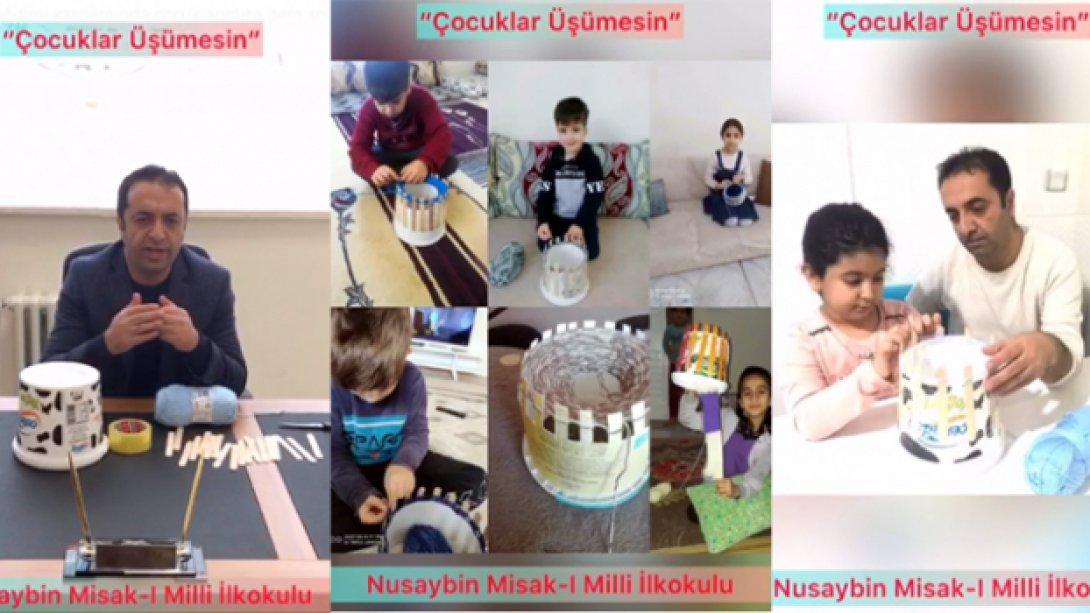 Misak-ı Milli İlkokulu'muzdan Yoğurt Kovası İle Gelen Dayanışma