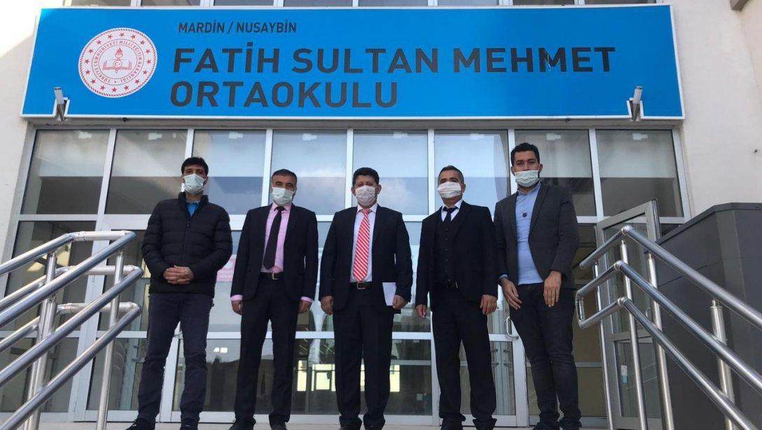 Şube Müdürlerimiz Mehmet Emin ÇETİN ve Cemal ALP, Yüz Yüze Eğitime Başlayan Okullarımızı Ziyarette Bulundular